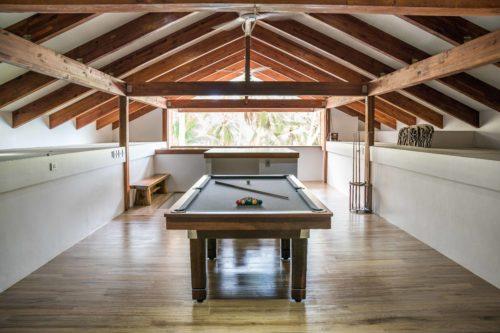 Pool table in Beran resort